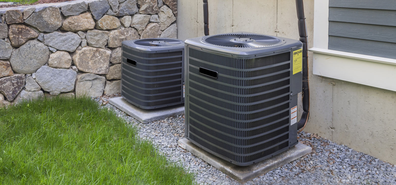 small and large ac units